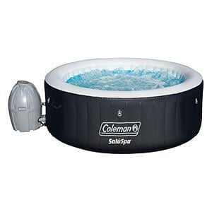 coleman saluspa 4 person portable tub