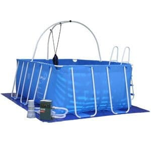 Ipool Deluxe Above Ground Exercise Swimming Pool