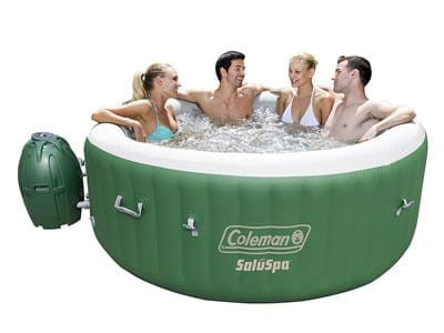 Coleman SaluSpa 6 Person Inflatable  Hot Tub
