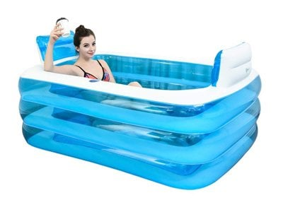inflatable bathtub folding inflatable pool